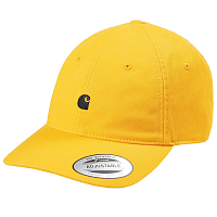 Carhartt WIP MADISON LOGO CAP SUNFLOWER / BLACK
