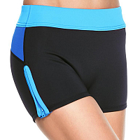 Glidesoul SHORTS 0.5 MM BLACK/ CYAN/L.BLUE