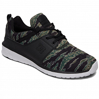 DC Heathrow TX SE M Shoe BLACK/CAMO PRINT