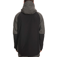 686 MNS GLCR HYDRA THERMAGRAPH JKT CHARCOAL HEATHER COLORBLOCK