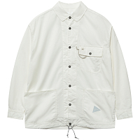 And Wander DRY RIP Shirt OFF WHITE