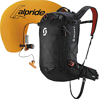Scott AIR FREE AP 24 KIT BLACK/BURNT ORANGE