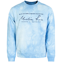 MARTINE ROSE Classic Crew LIGHT BLUE