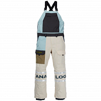 Analog M AG BIB Pant ETHER BLUE MULTI