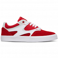 DC KALIS VULC M SHOE Red/White