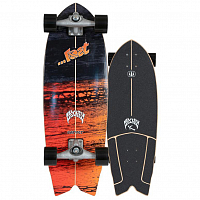 Carver Lost CX Psycho Killer Surfskate Complete RAW