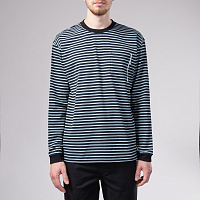 THE HUNDREDS JONES LS KNIT BLACK