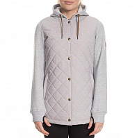 686 WMS AUTUMN INSULATED JACKET WHITE MELANGE COLORBLOCK