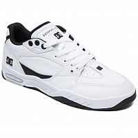 DC MASWELL M SHOE WHITE/BLACK