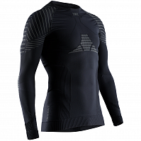 X-Bionic Invent 4.0 Shirt Round Neck LG SL MEN BLACK/CHARCOAL