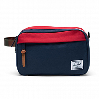 Herschel CHAPTER X-LARGE NAVY/RED