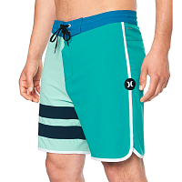 Hurley M PHTM BLOCK PARTY 18' AURORA GREEN